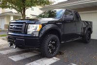 FENDER FLARE FORD F150 2009-2014 POCKET STYLE