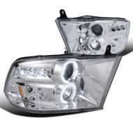 DODGE RAM 1500/2500/3500 2009-2017 CHROME HEADLIGHT SPYDER