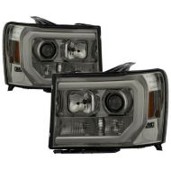 GMC SIERRA 1500/2500/3500 2007-2013 SMOKE HEADLIGHT DRL