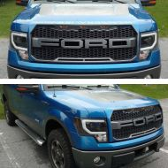 F150 2009-2014 RAPTOR STYLE LED GRILL FORD